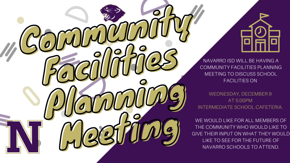 Community Facilities Planning Meeting