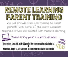 Remote Learning Parent Training