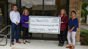 NISD Awarded Check for CTE Programs