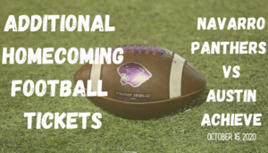 Additional Football Tickets