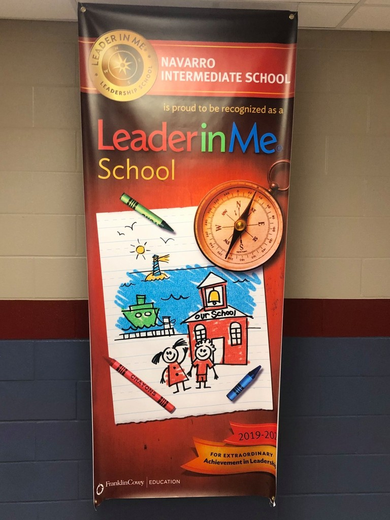 Navarro Intermediate School has been implementing the new LeaderinMe program