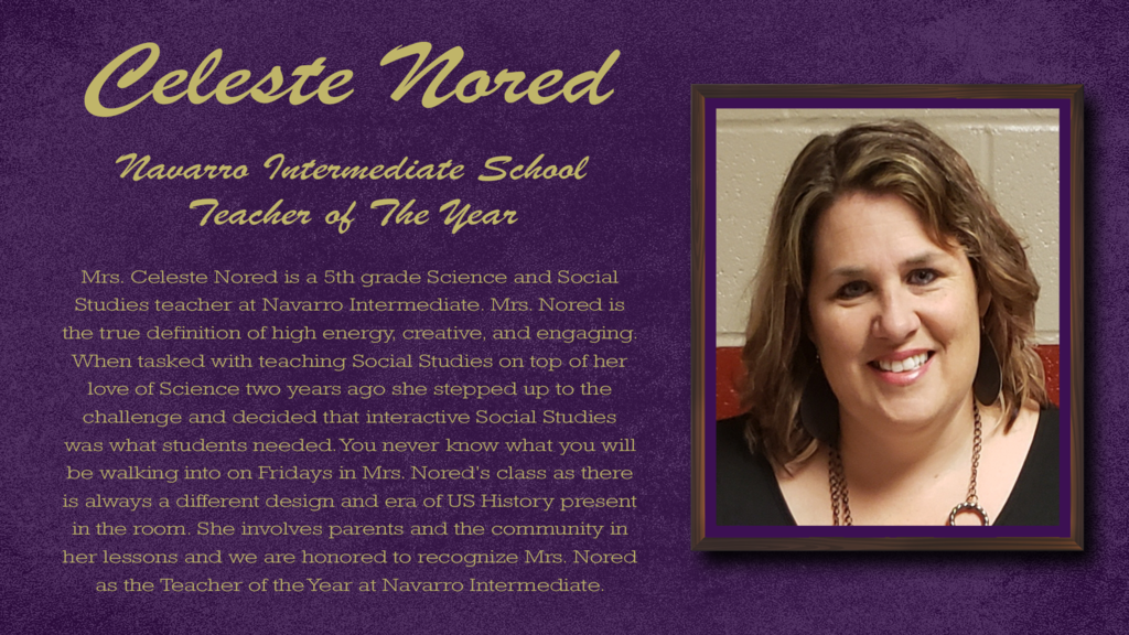 NISD Teacher of the Year